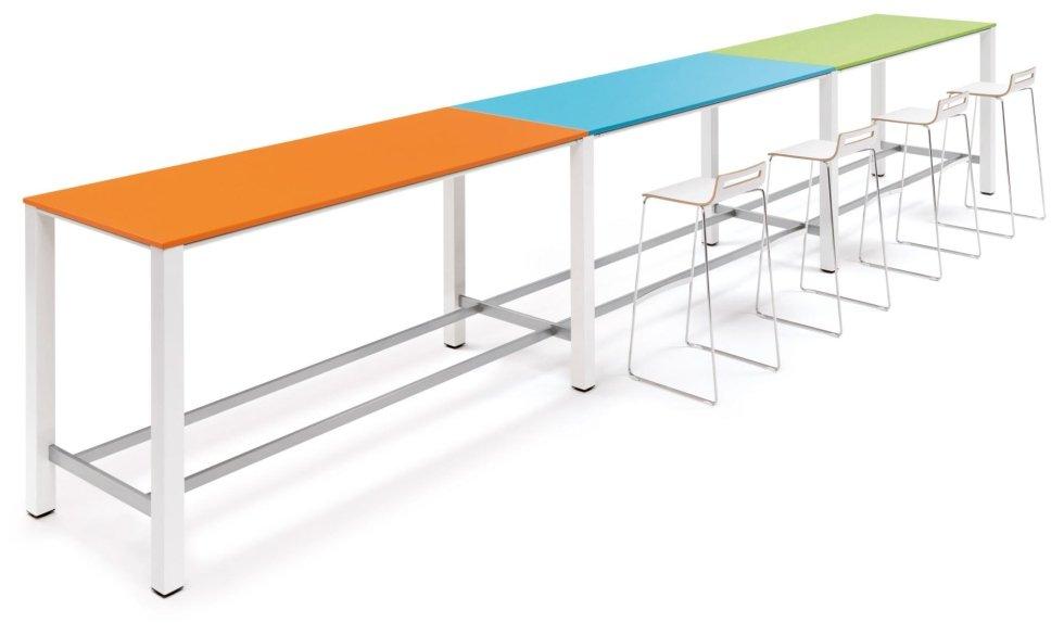scrivania colorata