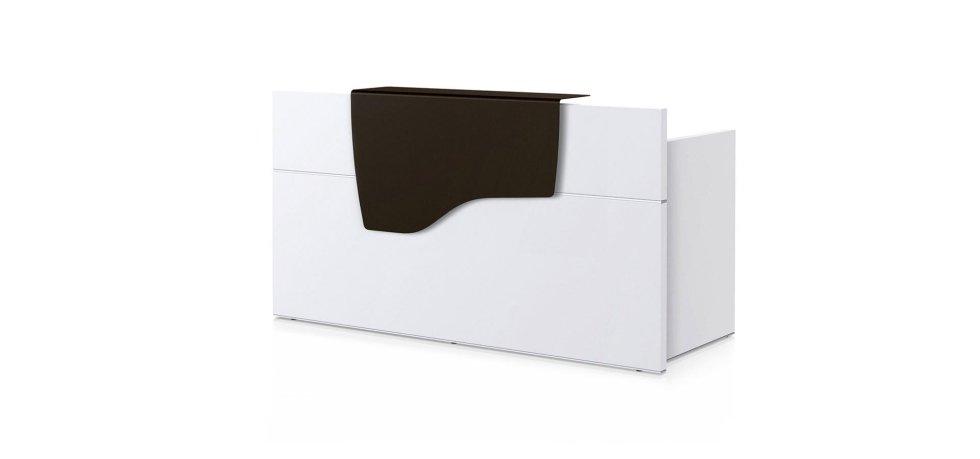 scrivania modello SEDUS con scaffale nero