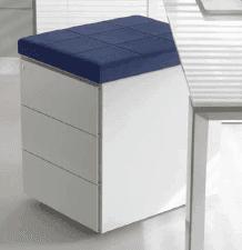 Cassettiere in metallo per scrivanie