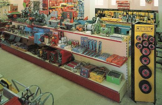 Scaffali per negozi