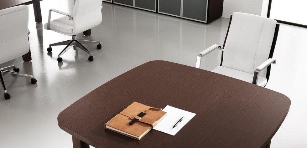 scrivania color noce_linea cubo 2