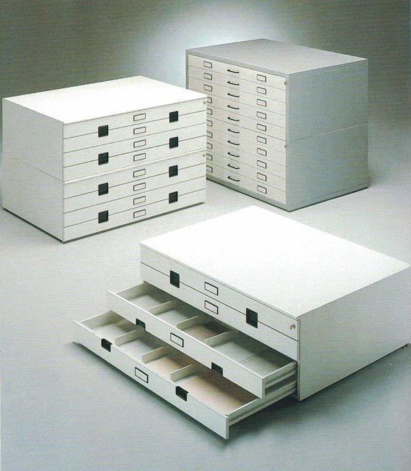 Cassettiera porta disegni