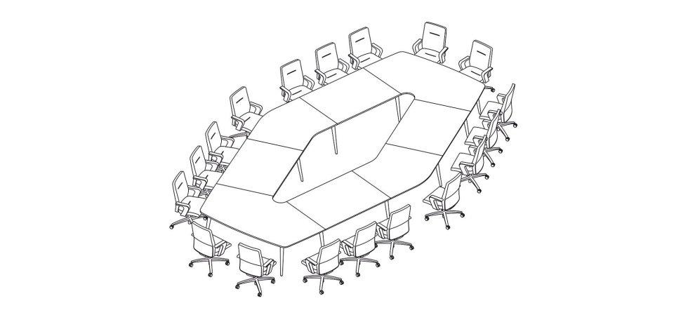 scrivania riunioni