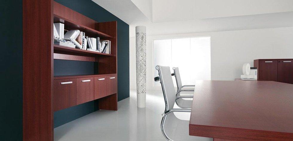 mobili ufficio direzionali_linea cubo