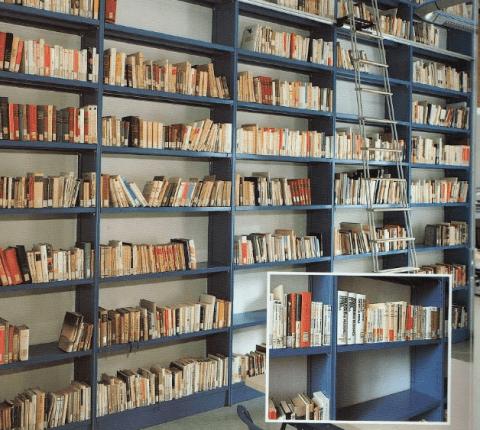 Scaffali per librerie ad incastro