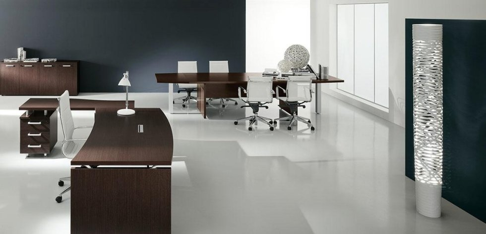 moderno design per ufficio dirigenziale_linea cubo