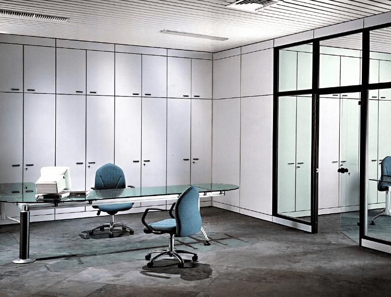 Pareti mobili e uffici di reparto