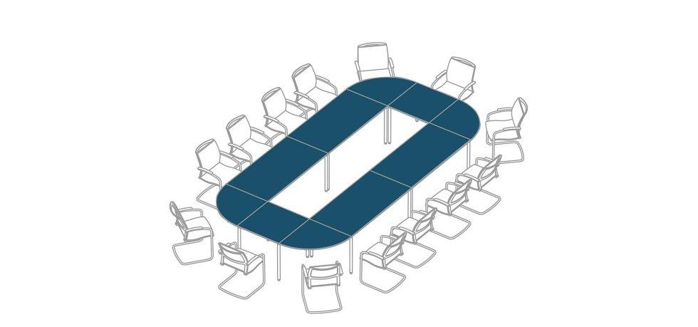 progetto scrivania riunioni