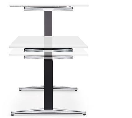 tavolo lungo bianco_linea attention sedus