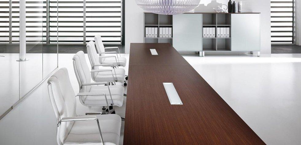 scrivania lunga per meeting_linea lux