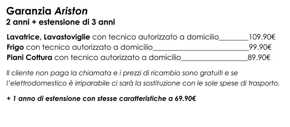 garanzia ariston