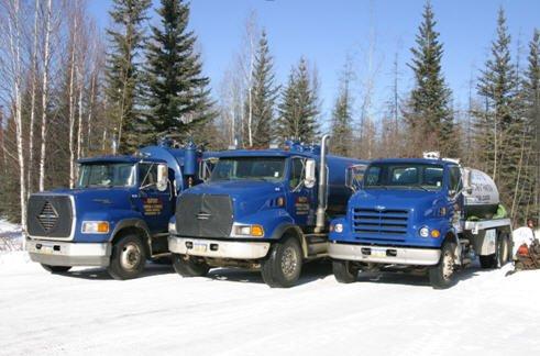 Bigfoot Pumping & Thawing trucks