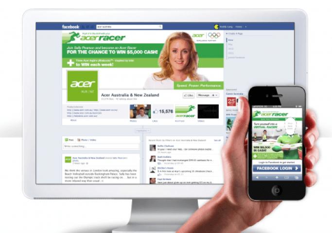 Acer racer webpage