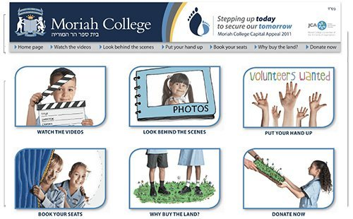 Moriah College advertisement