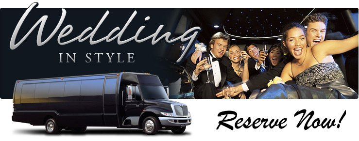 Wedding Limo Bus Chicago