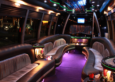 Limo Bus Rentals in Chicago
