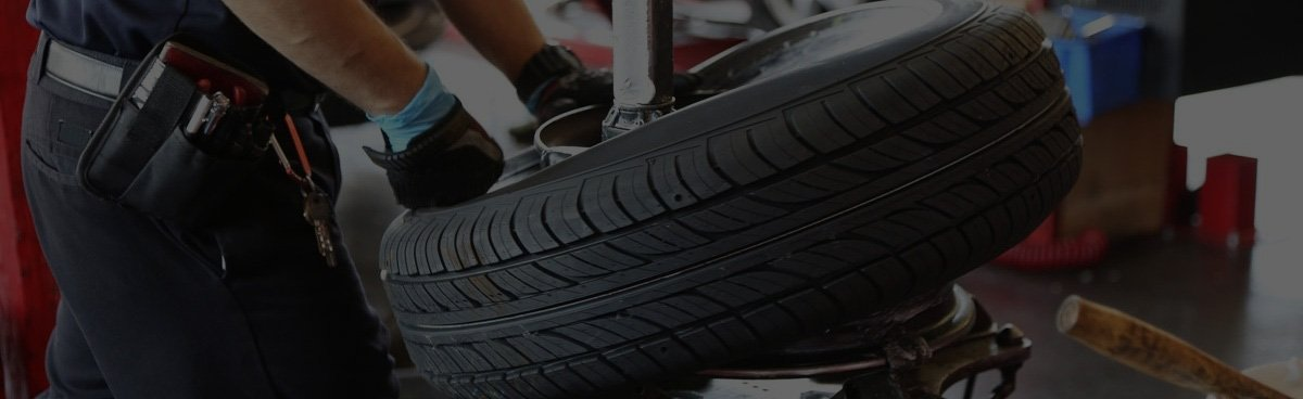 professional tyre installation
