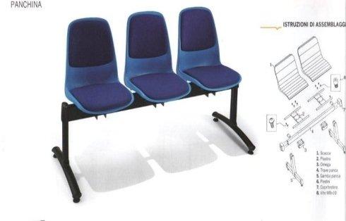 Panche e sedute per sala attesa