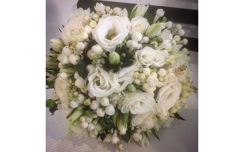 Bouquet sposa roselline