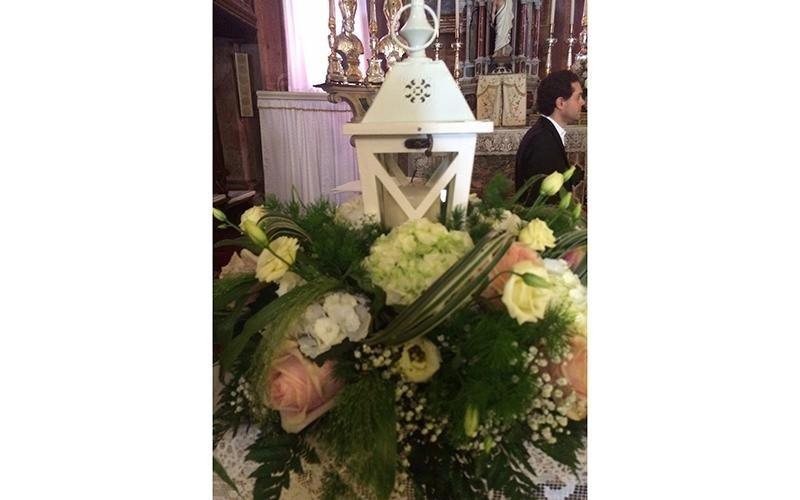 Addobbi floreali chiesa