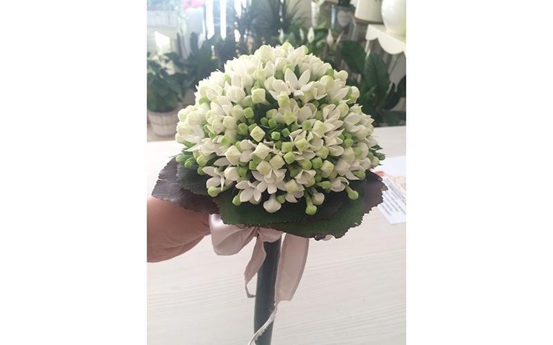 Bouquet da sposa bianco