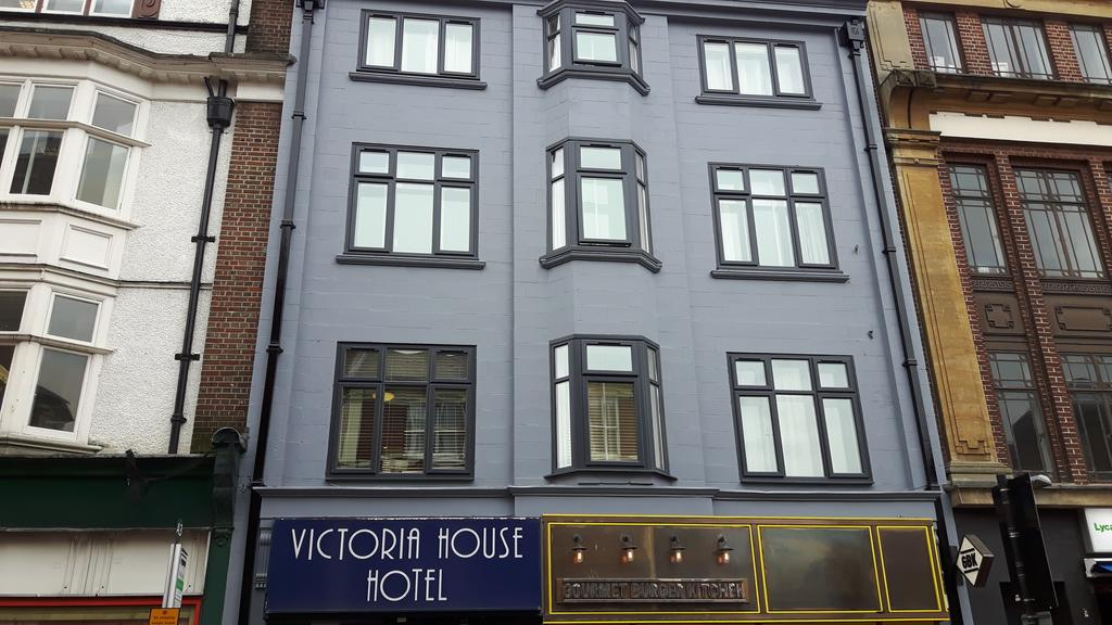 Picture of the Victoria House Hotel facade in Oxford
