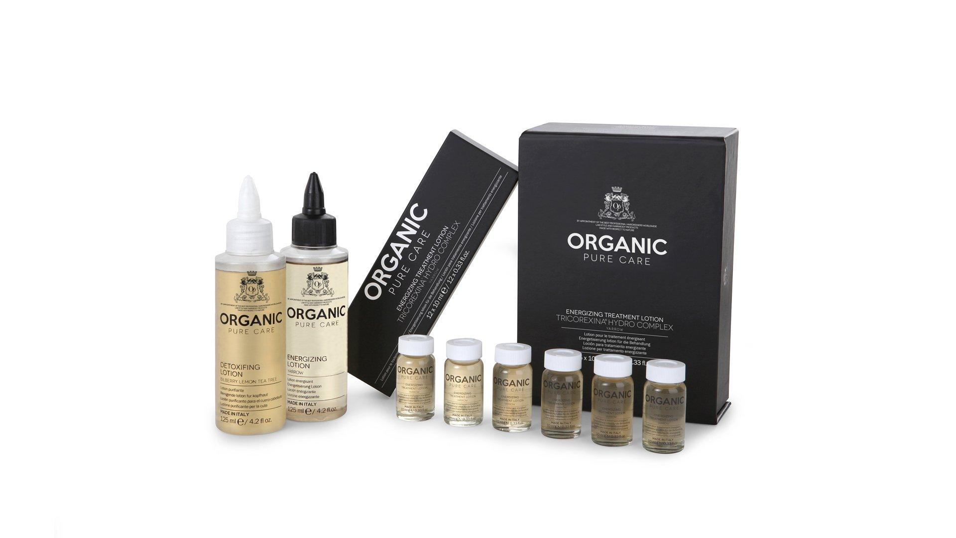 prodotti organic pure care