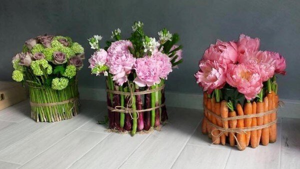 bouquet grezzo