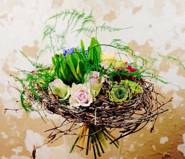 bouquet con rami