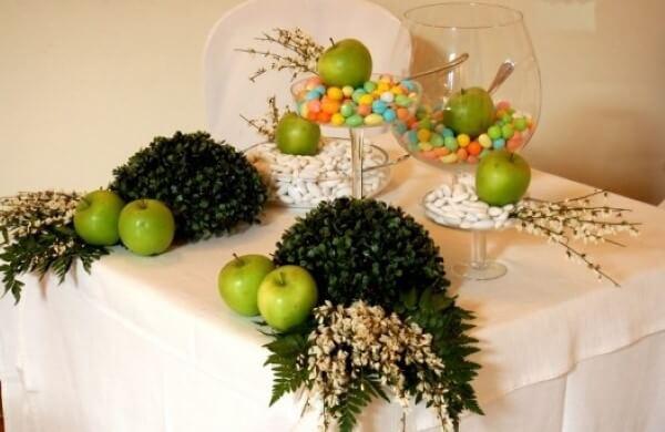 confettata con mele verdi