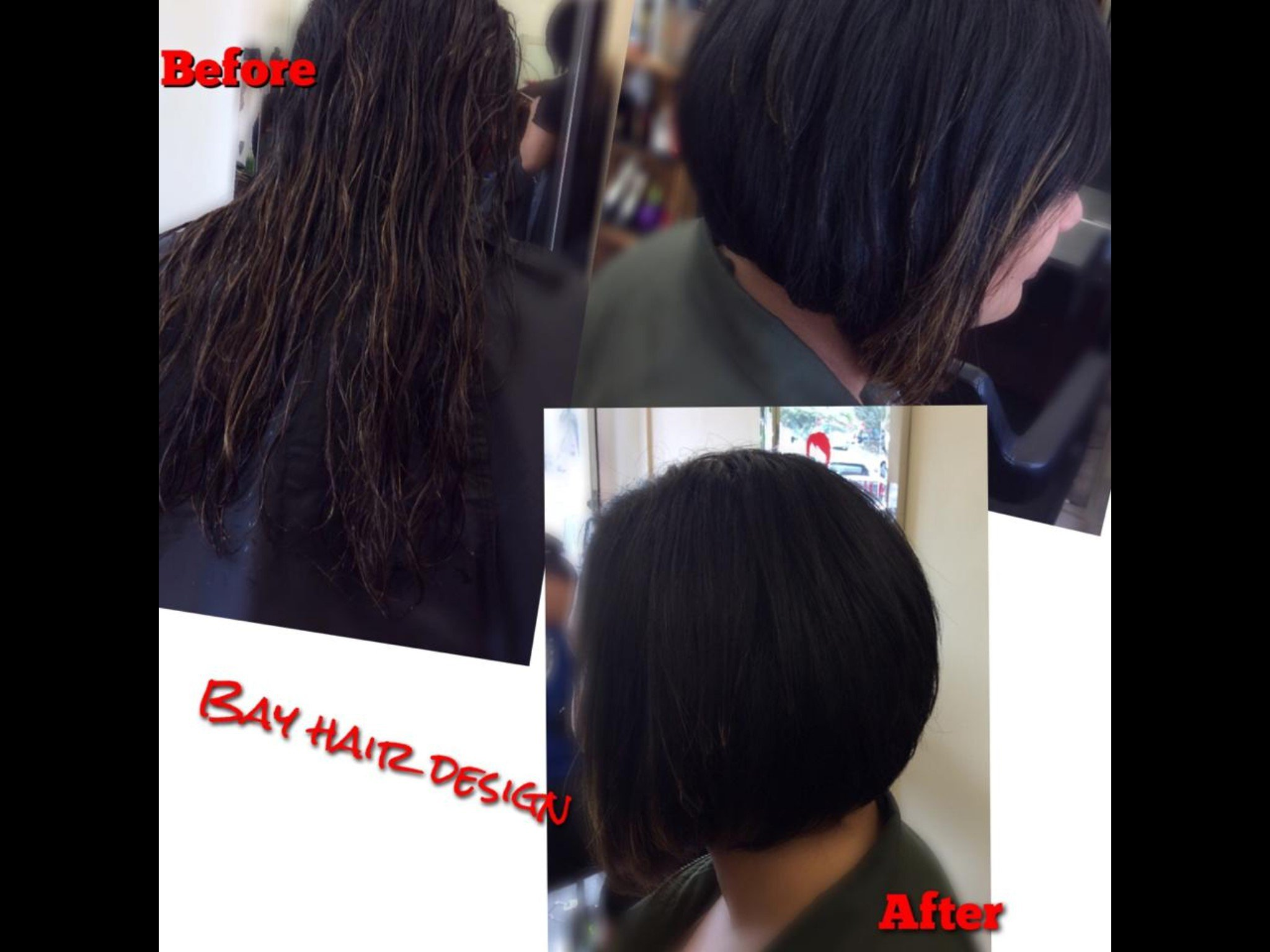This outstanding restyle was done by our senior stylist Sonya Martin