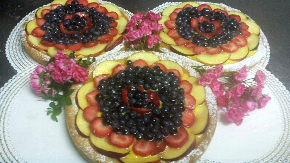 delle crostate alla frutta