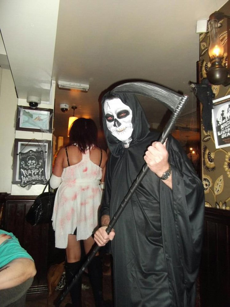 Alan at the Pear Tree Halloween Party