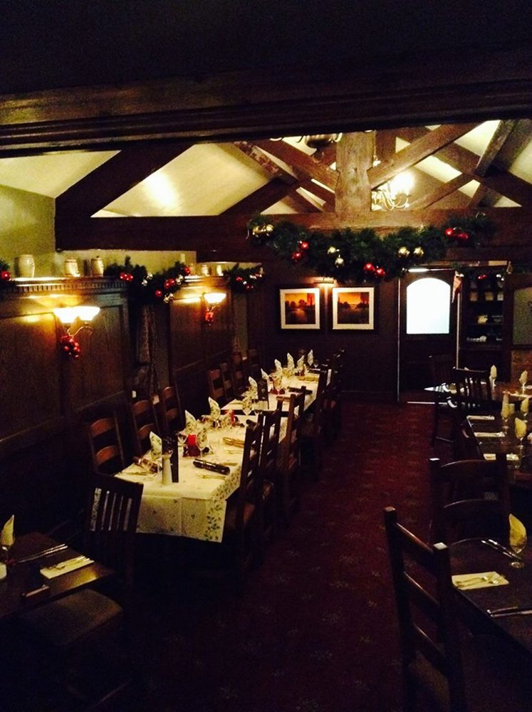 Our Restaurant ready for Christmas2014