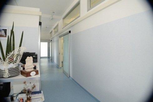 corridoio ambulatorio veterinario