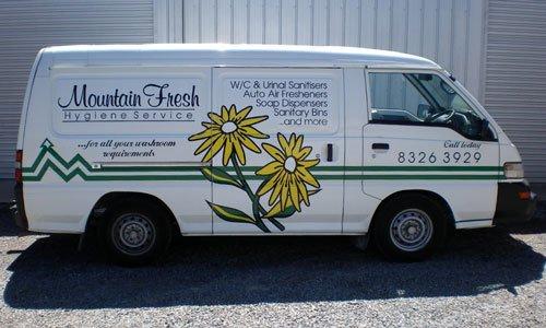 mountain fresh van