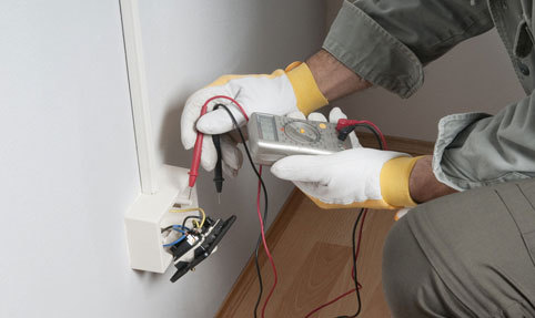 socket being checked