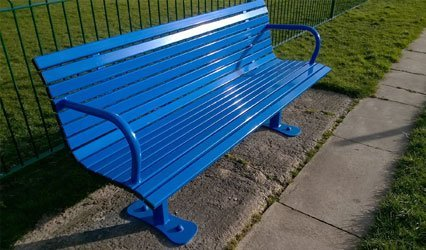 seating and litter bins