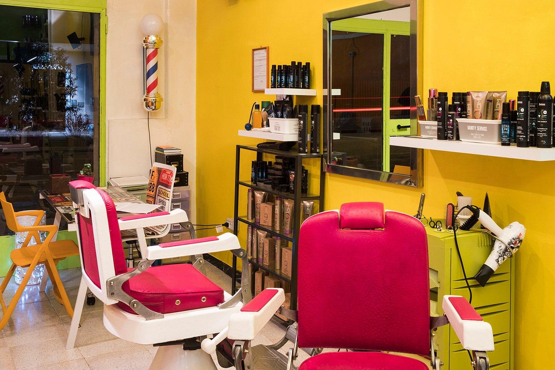 poltrone negozio parrucchiere