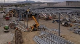 montaggio carpenteria metallica, costruzione strutture in acciaio, carpenteria metallica