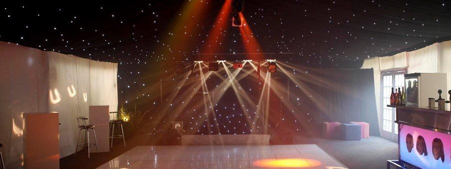 bespoke lighting arrangements
