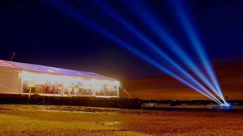 bright marquee lighting