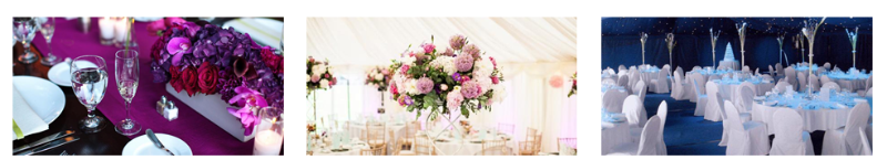 stylish marquees
