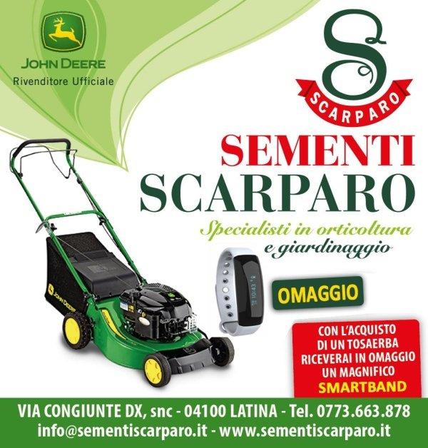 omaggio smartband sementi scarparo