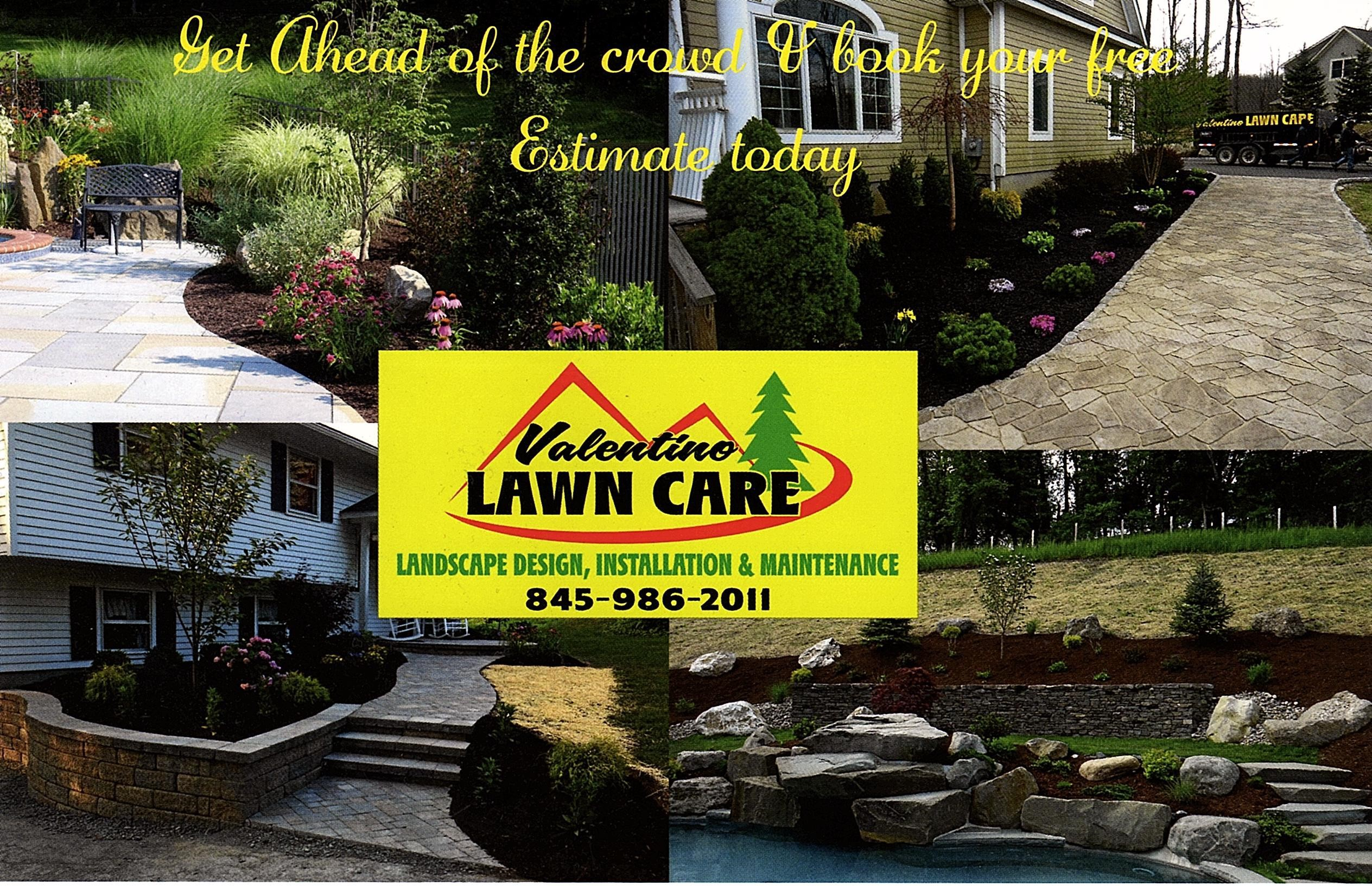Example of landscaping design by our lawn services company in Warwick, NY