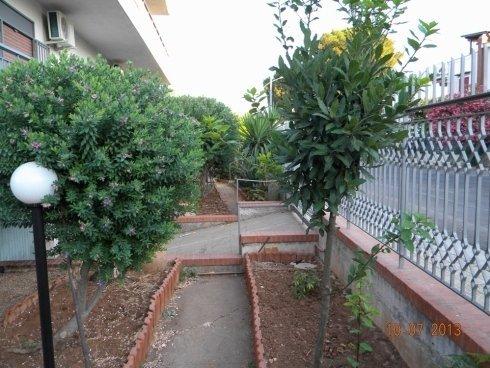 giardino di una casa di riposo