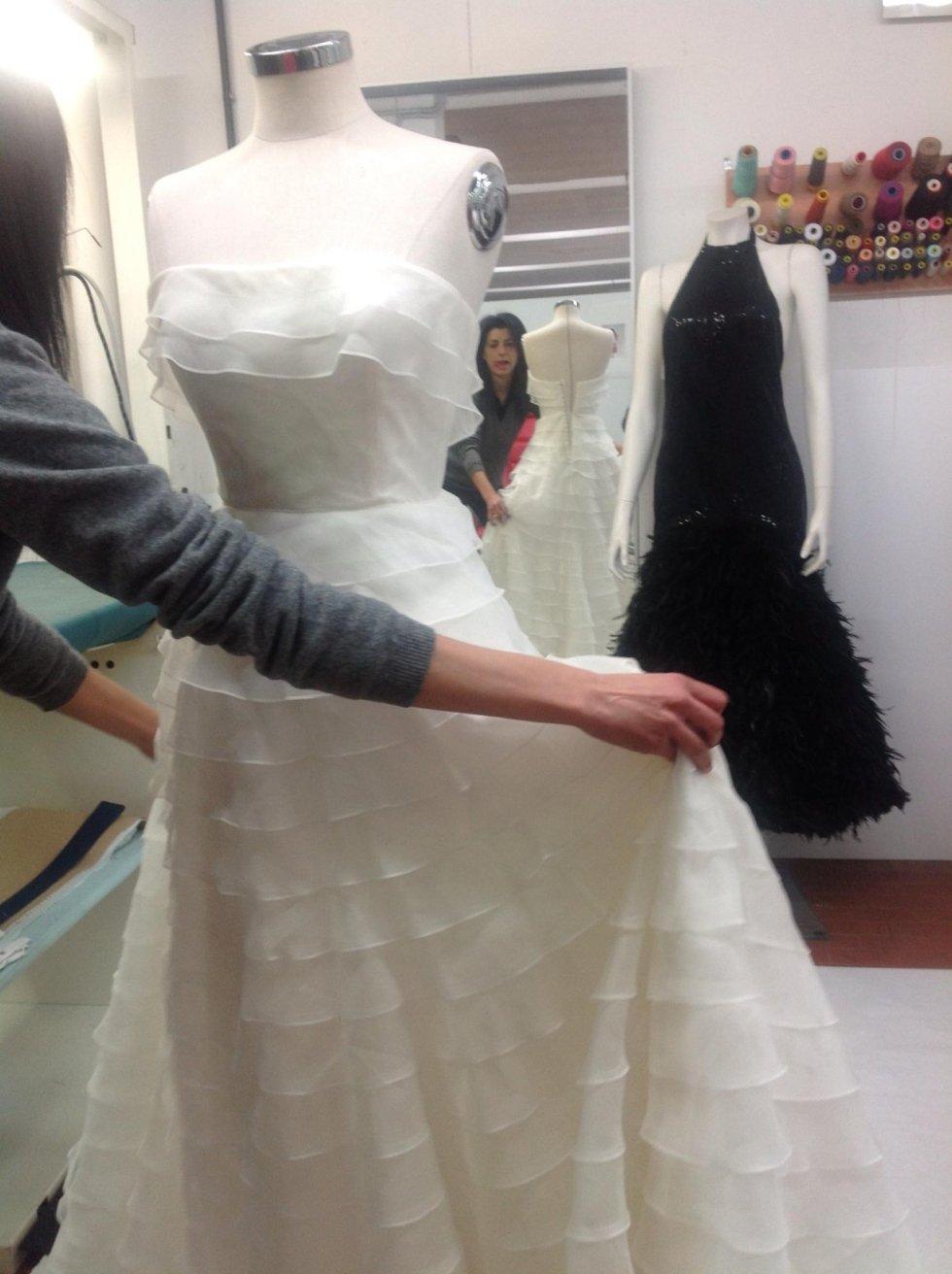 creaazione abiti da sposa