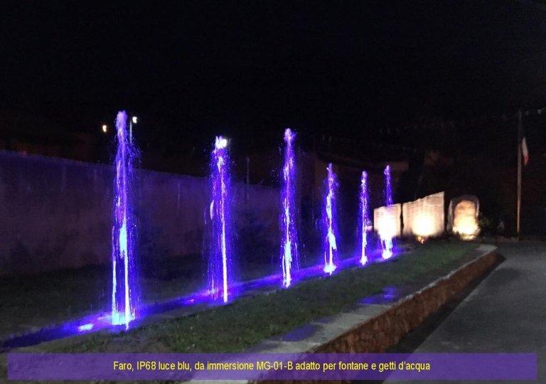 Luci per fontane