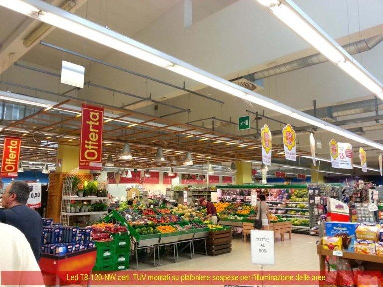 Neon supermercato