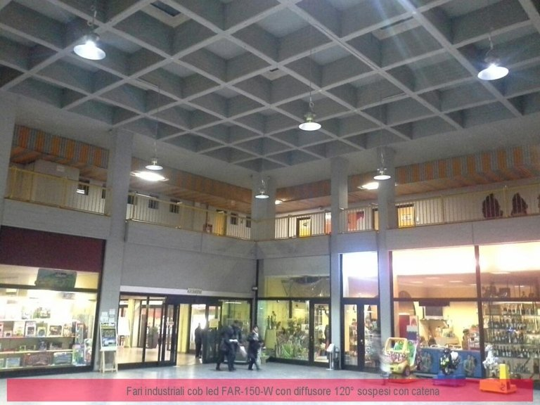Luci centro commerciale